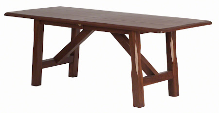 "70"" x 33"" Silvan Dining Table, Custom Finish"