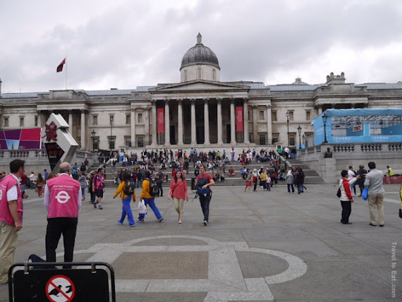 Trafalgar Square, London England