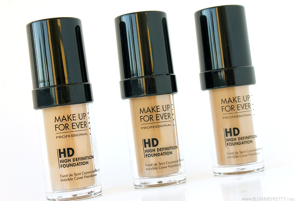 Makeup Forever HD Invisible Cover Foundation Review 120 123