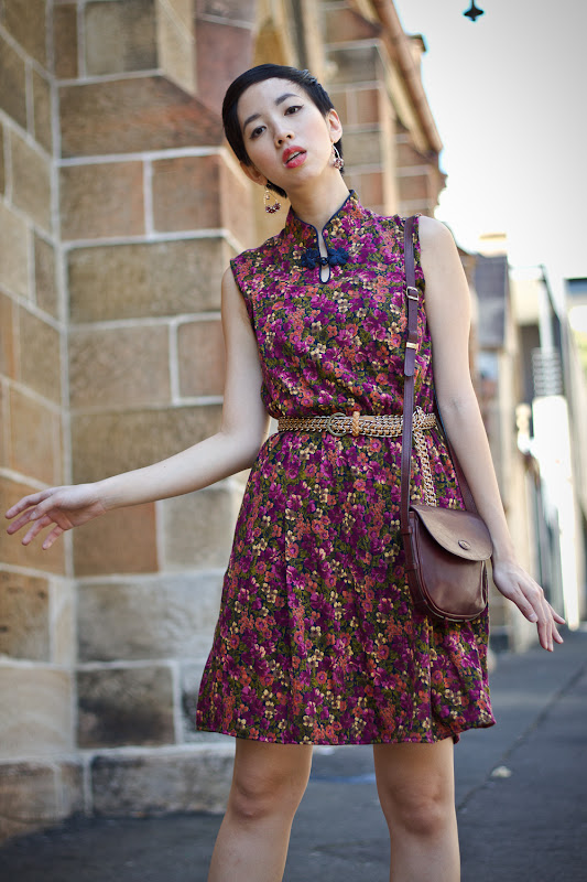 NoraFinds | Vintage Fashion Blogger Sydney | Vintage Australian Embassy Shift Dress