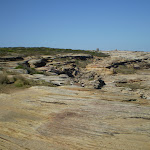 Exposed rocky track near Maroubra (18165)