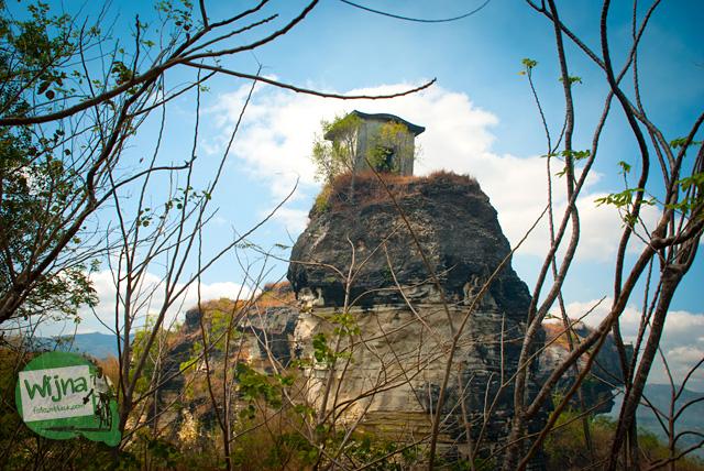 Rumah Dhemit di Klaten Jawa Tengah yang dahulu kala katanya difungsikan sebagai gudang mesiu
