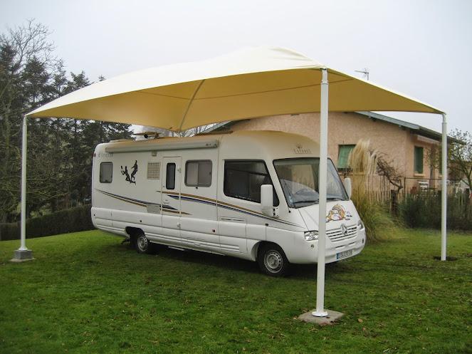Entretenir son camping car tous aux abris france abris for Abri garage camping car