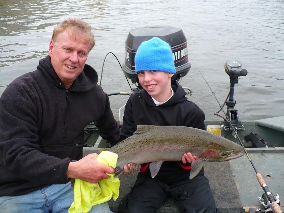 Grand River Steelhead Fishing