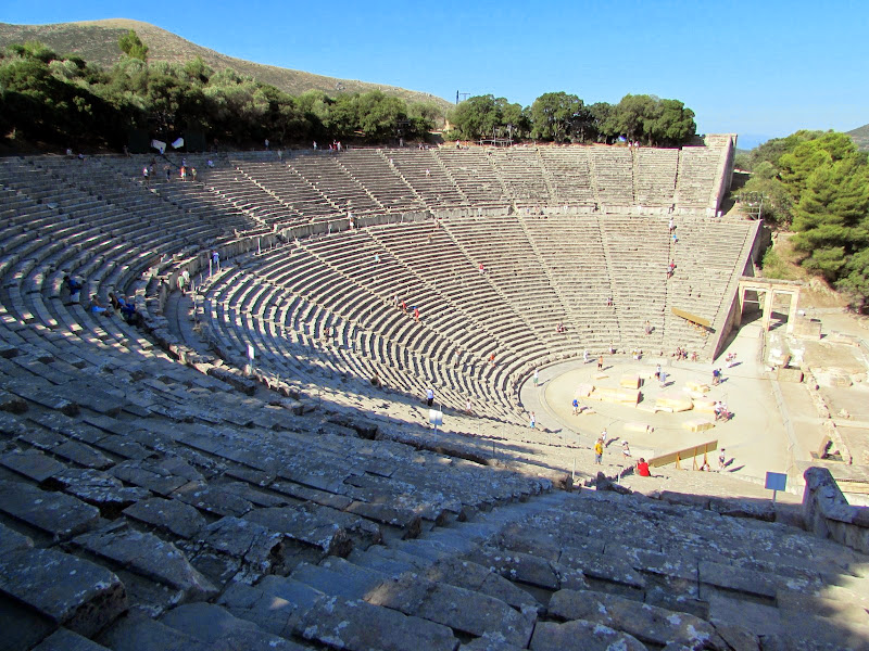 Epidaurus and Mycenae