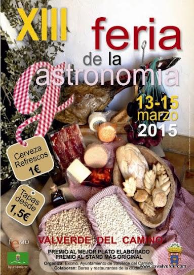 Feria Gastronomía 2015