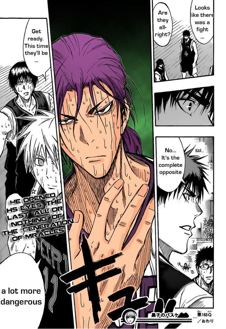 Kuroko no Basket Manga Chapter 165 - Image 19