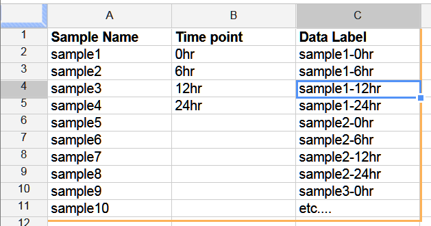 how to add up columns in google docs