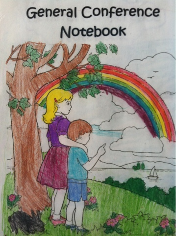 General Conference Activity Notebook For Primary Kids