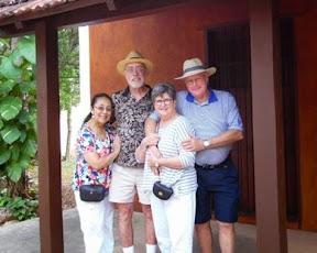 Myrna, Harley, Ann, and Curt at the Hacienda Ochil
