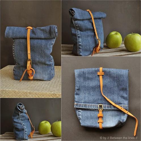 daur ulang pakaian jeans