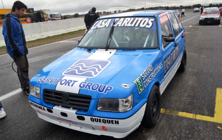 Nicolas Valencia piloto de automovilismo Necochense