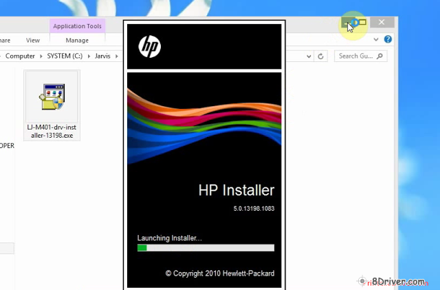 download HP LaserJet Pro CM1415fnw Printer driver 5