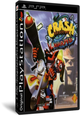 Crashbandicoot 3 Warped [Español] [PSP] [FLD]