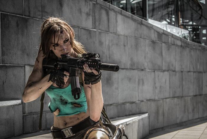 """Bộ ảnh cosplay tuyệt vời về """"siêu điệp viên"""" Lara Croft - Ảnh 3"""