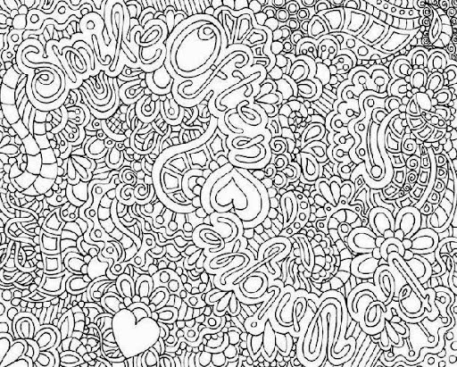 Free coloring pages of difficult pages for for Super hard abstract coloring pages for adults