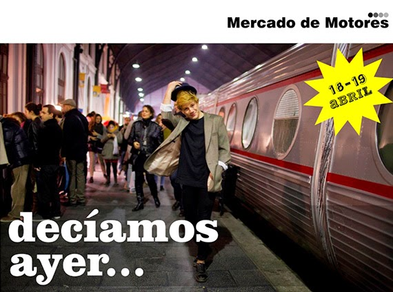 El Mercado de Motores vuelve al Museo del Ferrocarril