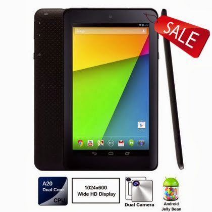 Google Android 4.2 Dual Core A20 Tablet PC, Allwinner A20 Dual