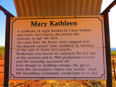 Sunbakers Travels Amp Tales Mary Kathleen Ghost Town