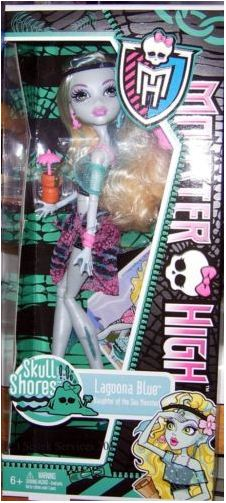 Monster High - Skull Shores: Lagoona Blue