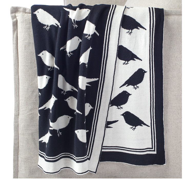 Z Gallerie Light Fixtures: Z Gallerie Decorative Bird Throw