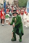 Sprachaufenthalt in Irland - St Patricks Day Parade — Dublin