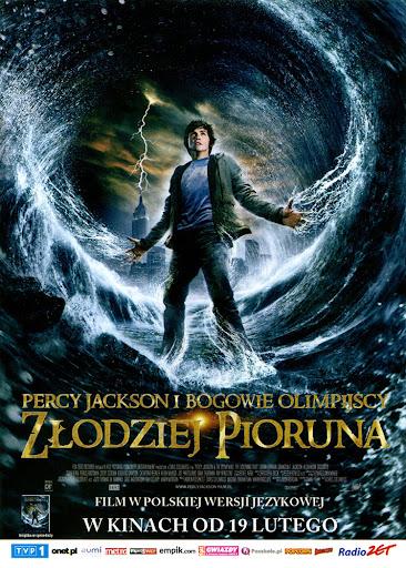 Przód ulotki filmu 'Percy Jackson i Bogowie Olimpijscy: Złodziej Pioruna'
