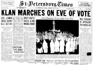 1937 Ku Klux Klan, St. Petersburg, Florida