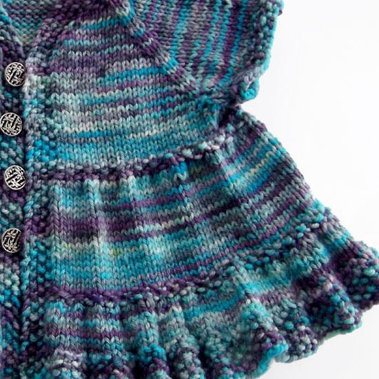 Knitting Frock Patterns : Midnightsky Fibers: Ruffle Dress Knitting Pattern