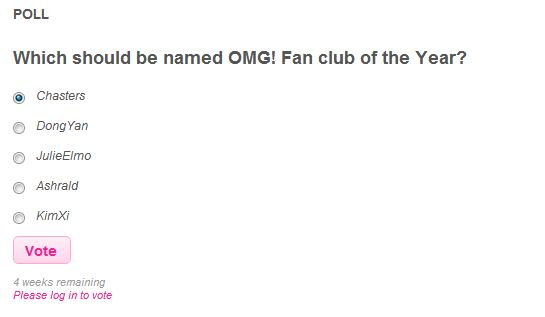 VOTE: Yahoo! Philippines OMG! Awards 2012 - Female Singer of the Year and Fan Club of the Year 3