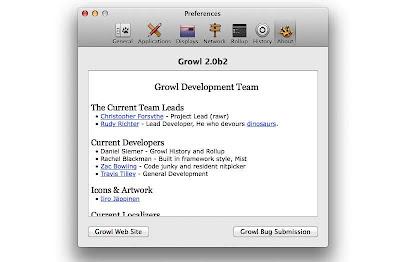 Growl 2.0 se integrará en el Centro de Notificaciones de OS X Mountain Lion