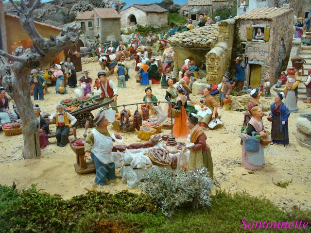 La cr che des saintes marie de la mer santons et cr ches for Creche salon de provence
