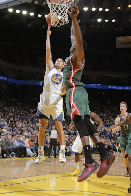 wearing brons nba lebron10 id stephen curry 05 Wearing Brons: @StephenCurry30 Introduces Golden State Warriors iDs