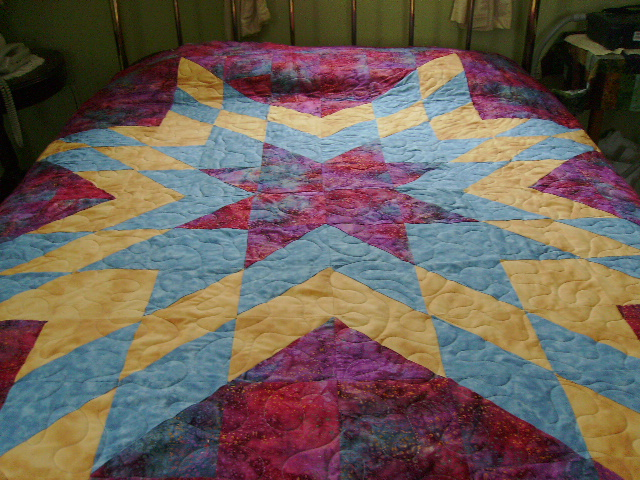 Quilting By Jeannie: Lone Star Quilt