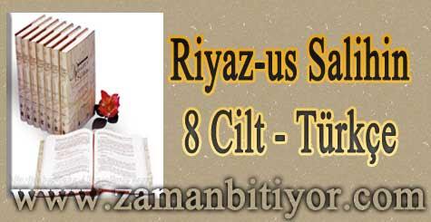 Riyazus Salihin 8 Cilt Türkçe İndir