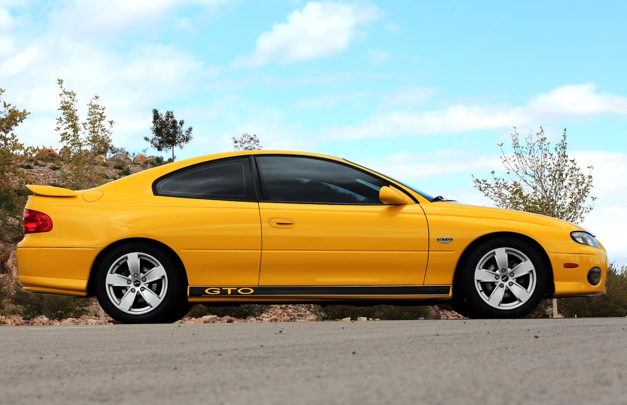 2004 pontiac gto ls1 5 7 l 6 speed ebay. Black Bedroom Furniture Sets. Home Design Ideas