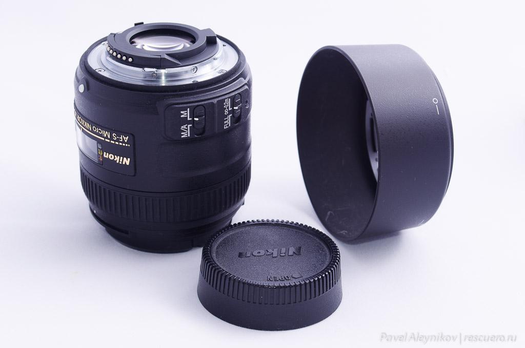Объектив Nikkor 40mm micro