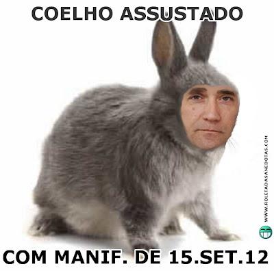"""Manifestações de 15 de Setembro """"Que se lixe a troika"""" deixam Coelho assustado"""
