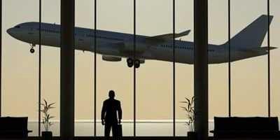 Tomar el avión cuando viajas