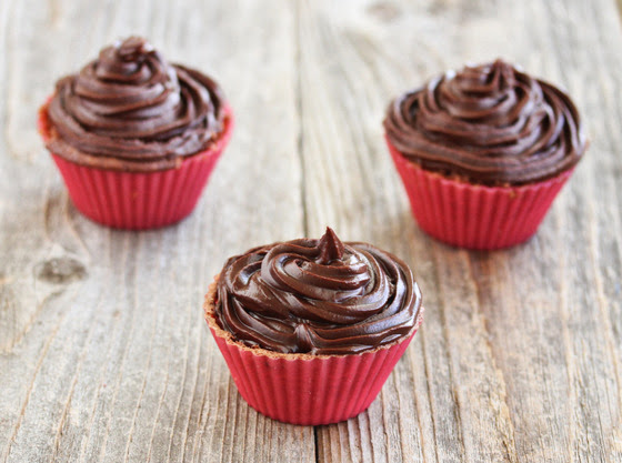Microwave Chocolate Cupcakes