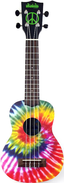 "Kala ""Tie-Dye"" Ukadelic Acoustic Soprano"