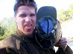 I took a paintball in the smacker