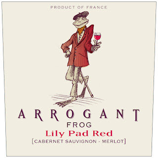 Arrogant Frog Lily Pad Red