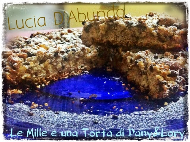torta di mele e cioccolato al profumo di liquirizia