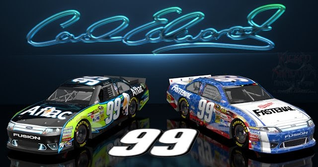 wallpapers by wicked shadows carl edwards aflac nascar
