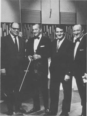 Dario Castel, Hugo Baralis, Nestor Fabian y Jorge Nelson en 1965