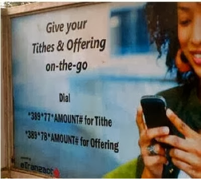 PHOTO: Winners Chapel Introduces Payment Of Tithes/Offerings Using Phone Dial Codes 1