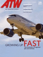 Air Transport World magazine 05/2014 cover.