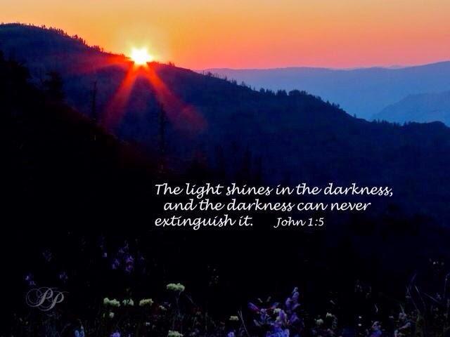 darkness always terrified me...... essay