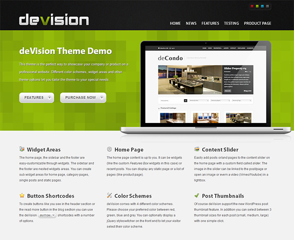 Devision WordPress Theme for Business